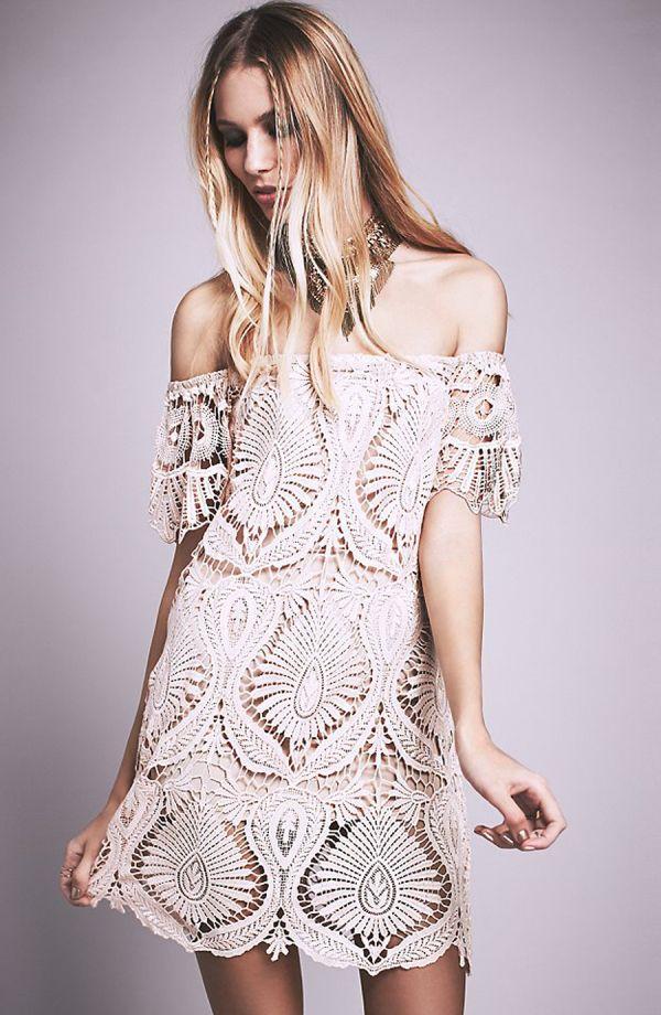 Style me pretty lace dress