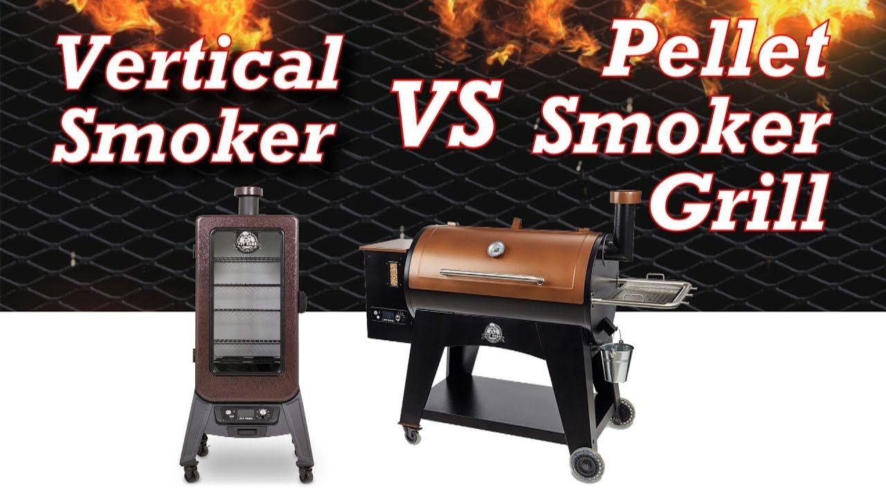 Vertical Smoker vs Horizontal Pellet Smoker Grill - Which ...