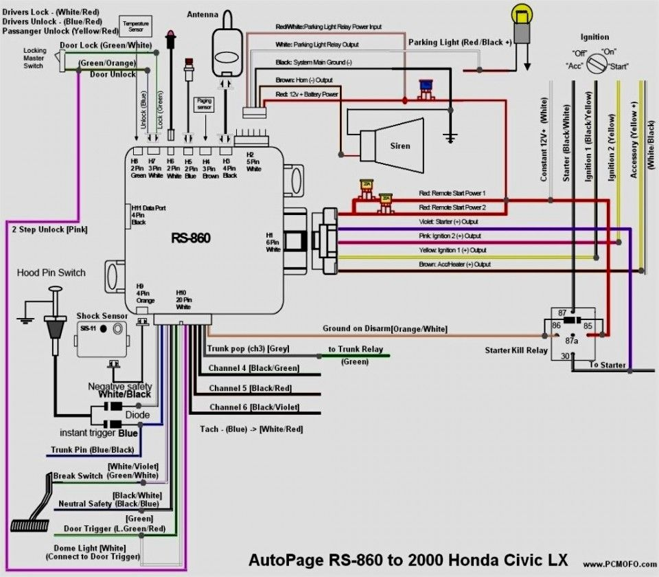 the 21 best honda main relay wiring diagram design ,  https://bacamajalah.com/the-21-best-honda-main-relay-wiring-d… | car alarm,  honda civic, honda civic headlights  pinterest