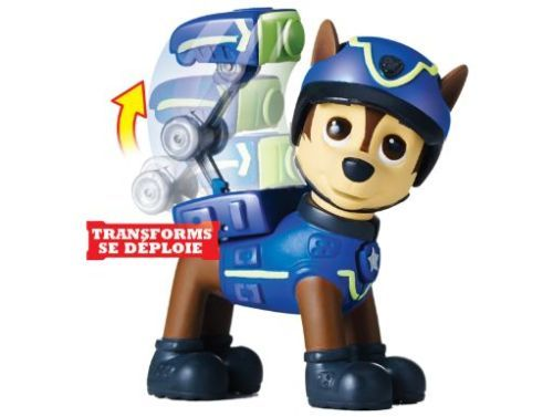 Paw Patrol Action Badge Amp Pup Chase Pack Spy Pup Figure Transforming Back Pack