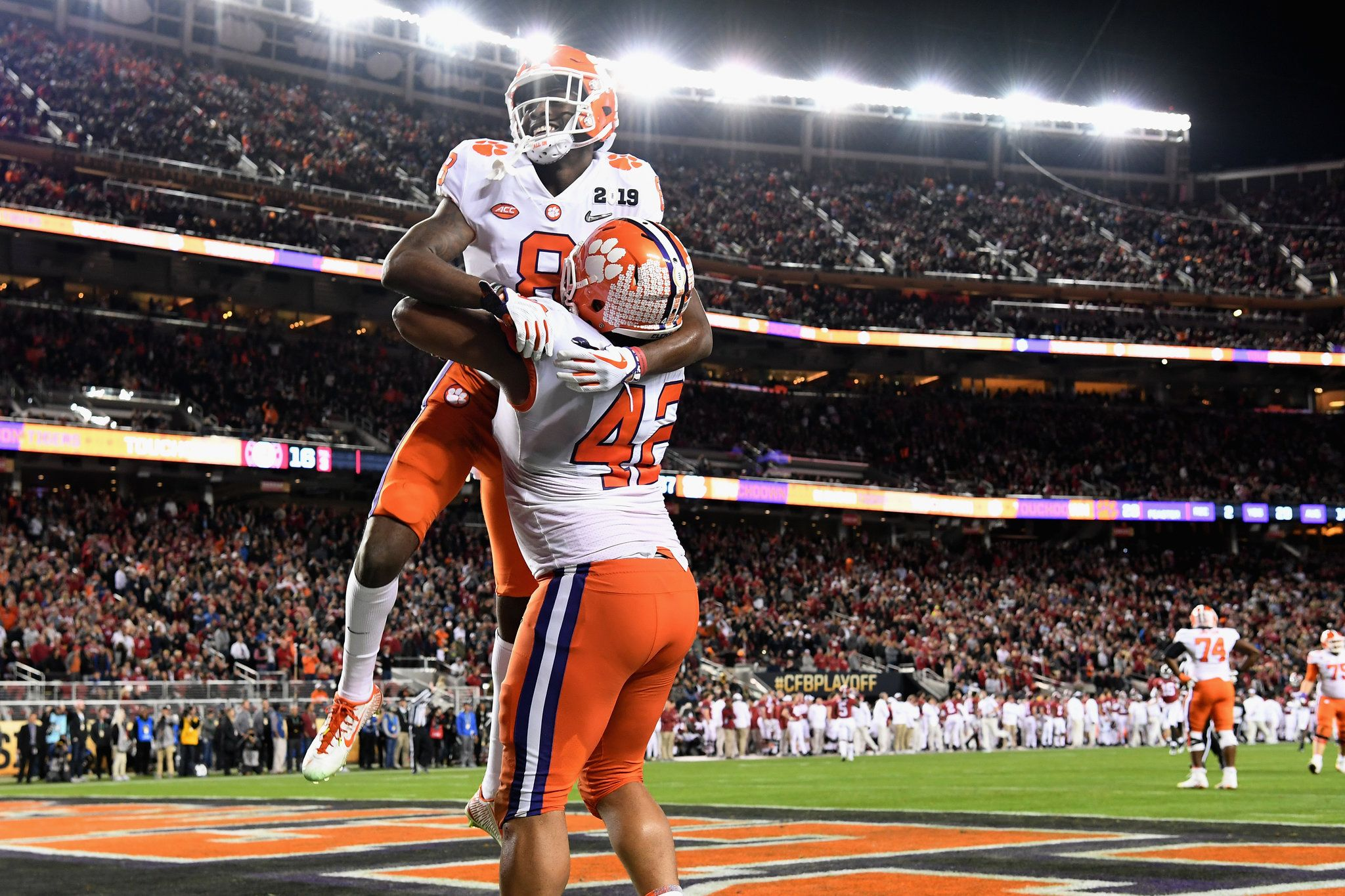 Clemson Leaves No Doubt in National Championship Thrashing
