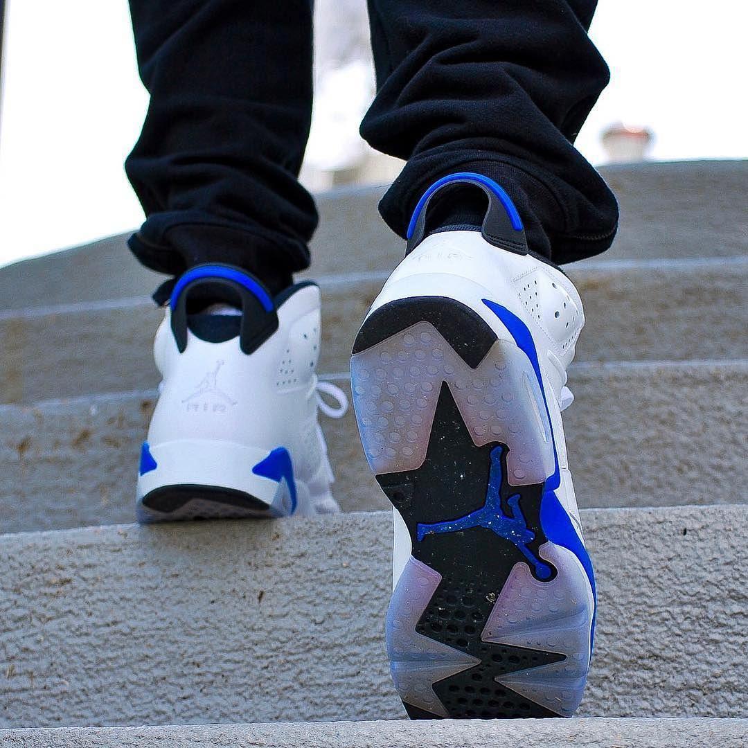 Nike Air Jordan 6 Sport Blue Mgj 12 Air Jordans Jordans Nike Air Jordan Shoes