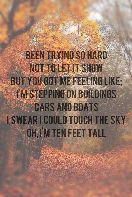 'Ten Feet Tall' Afrojack ft wrabel ❤