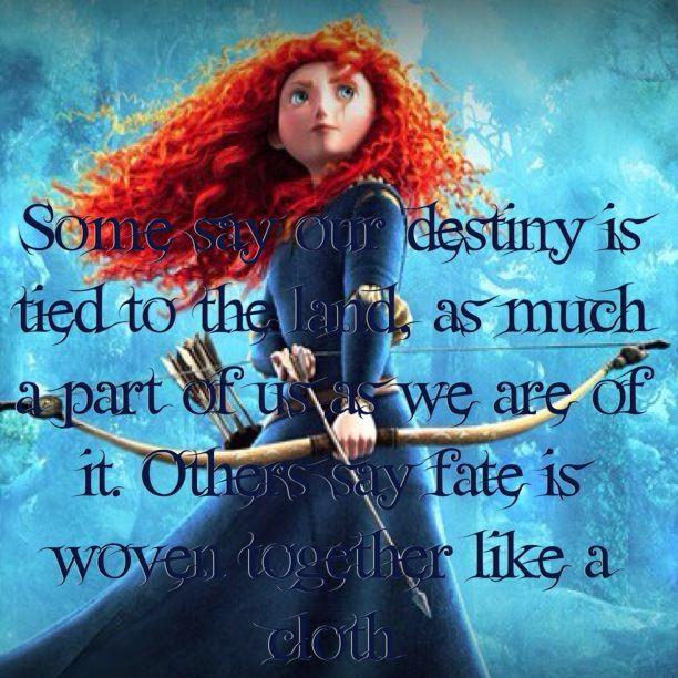 disney pixar brave fate quote quotes disney quotes and