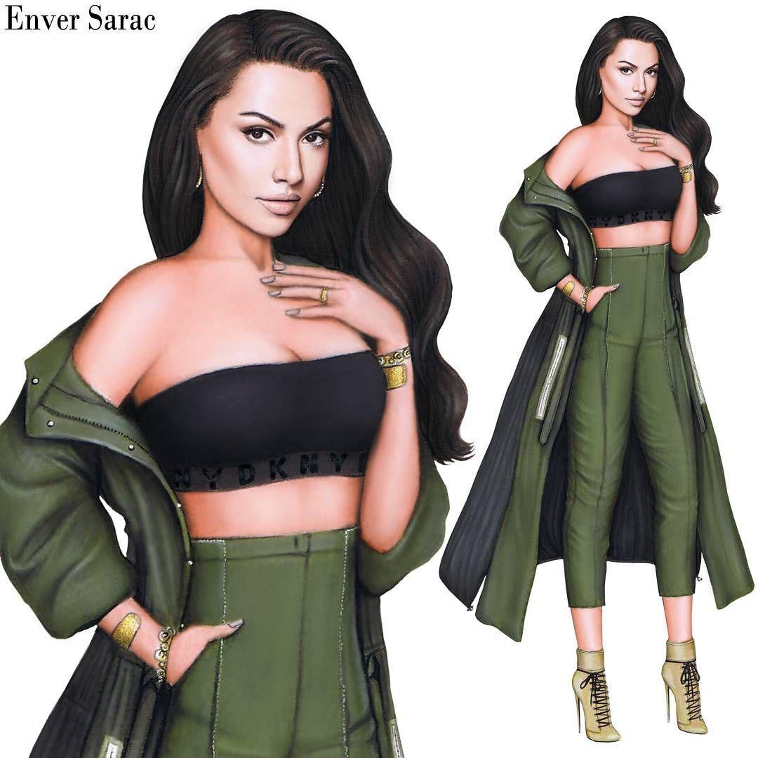 2 096 Likes 231 Comments Enver Sarac Enversarac On Instagram Hadise Wearing A Cutout Glitter Dress By Derya Acikgoz Please Tag Gambar Orang Desain