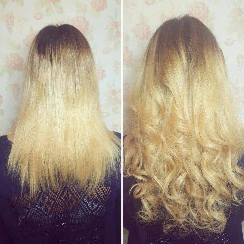 Bombshell 2 Colour Blend From Our Standard Hair Extension Collection