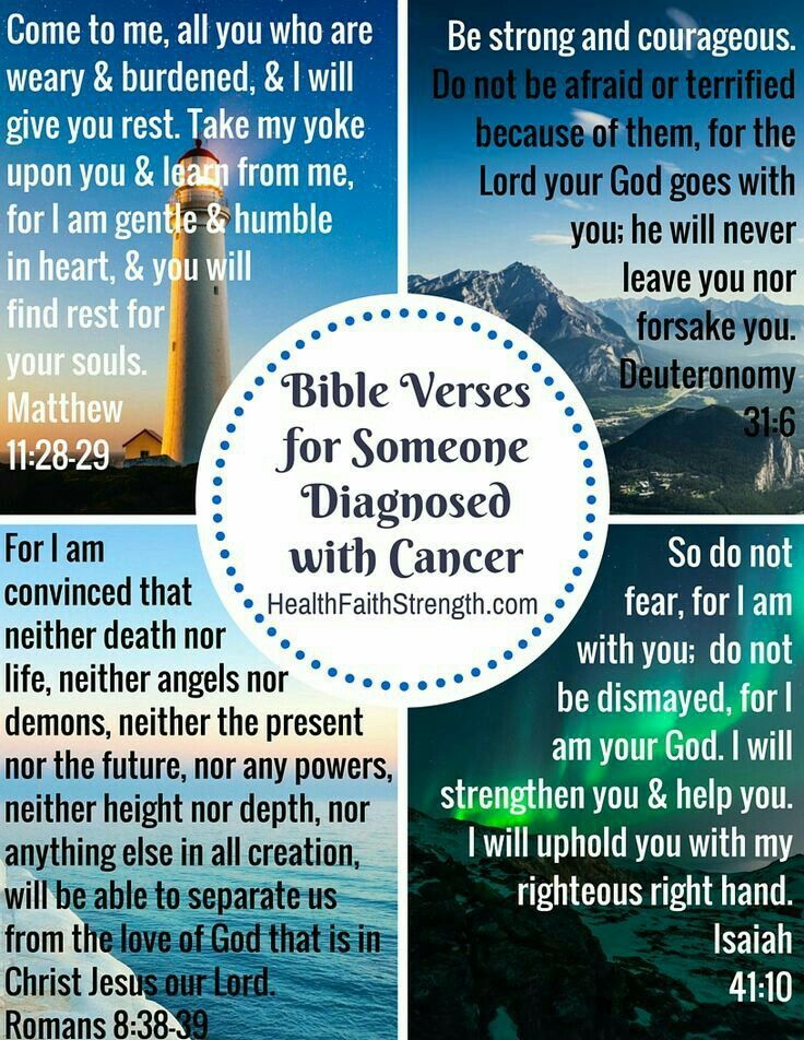 7 Encouraging Bible Verses for Cancer Patients | Guideposts