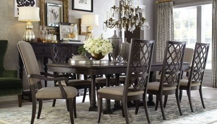 Bassett Emporium Collection Formal Dining Table D Noblin Furniture