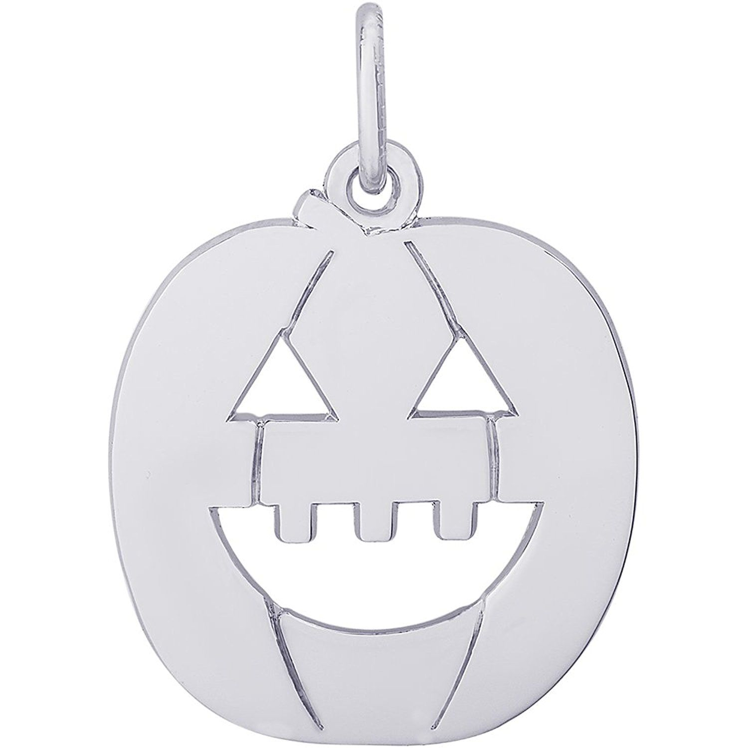 Rembrandt charms k or k yellow gold jack o lantern charm x