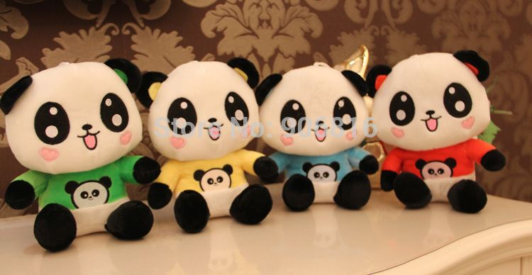 22cm Lovely Happy Panda Mini Plush toys Cartoon Animal Baby Toy for Children Gifts Wedding Gifts plush dolls Wholesale-in Stuffed & Plush Animals from Toys & Hobbies on Aliexpress.com | Alibaba Group