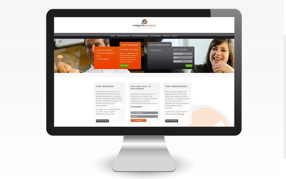 Voor het Werkgeversservicepunt Duin- en Bollenstreek hebben wij een nieuwe website gerealiseerd. De website is o.a. geschikt voor mobiel. Verder bevat de website een vacature modulen waarmee de klant eenvoudig vacatures kan toevoegen en beheren. Ook is er een koppeling gemaakt met MailChimp. Meer informatie: http://www.quite-easy.nl/portfolio/wgsp-duin-en-bollenstreek