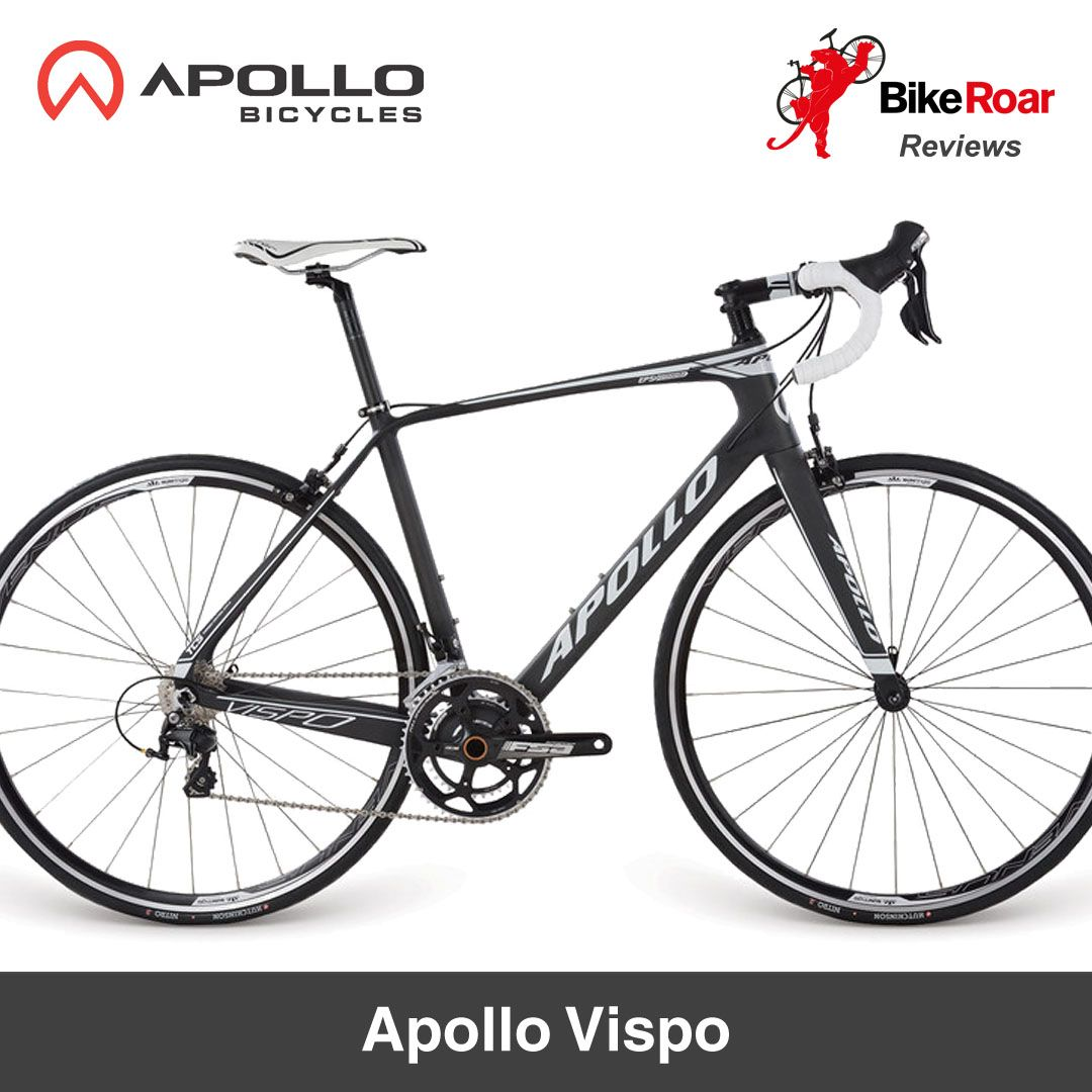 Review Apollo Vispo Mid Range Road Bike Good Frame Mostly Good