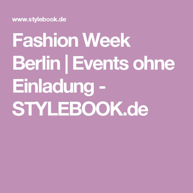 Fashion Week Berlin | Events ohne Einladung - STYLEBOOK.de #littlepopup #popupshop #press