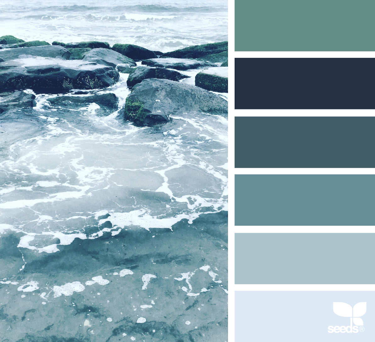 Beach Color Palette For House: Best Bedroom Colors, Ocean Colors, Sea Colour