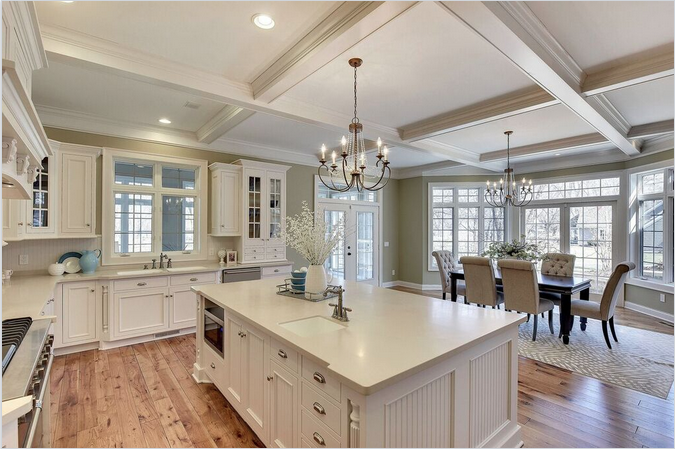 Make your kitchen stand the test of time with white cabinets