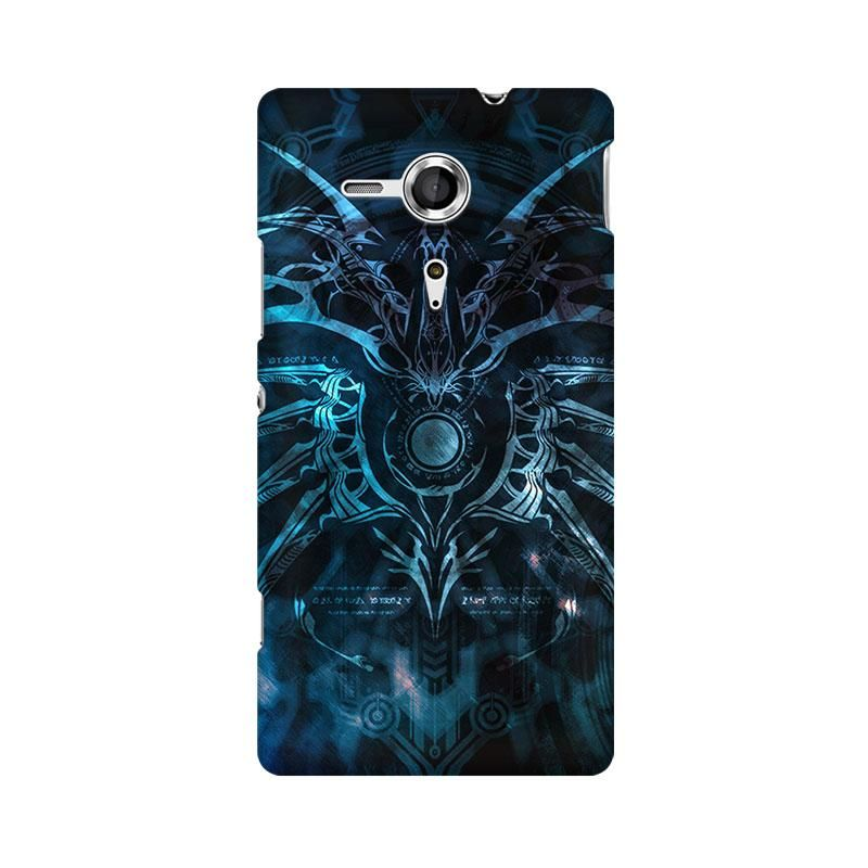 Abstract Pattern Phone Case For Sony Xperia SP M35H