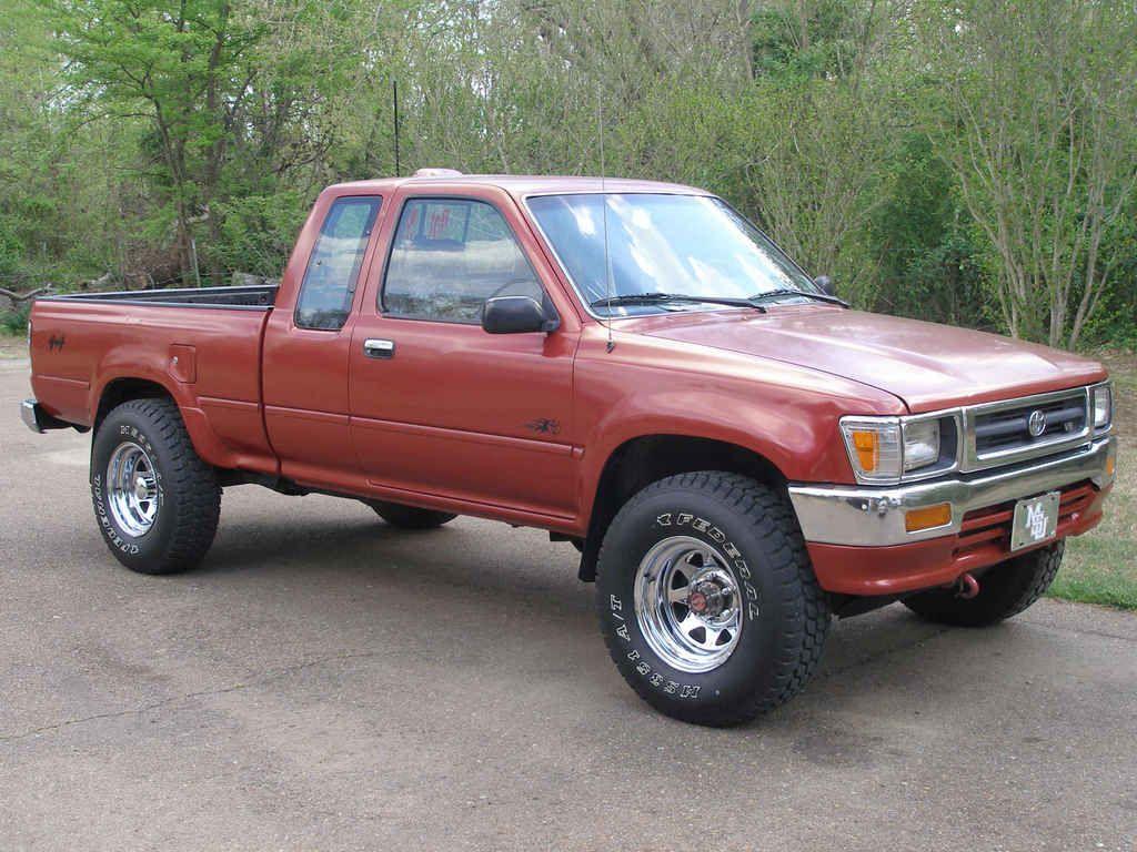 1994 toyota pickup nice color trucks toyota trucks. Black Bedroom Furniture Sets. Home Design Ideas