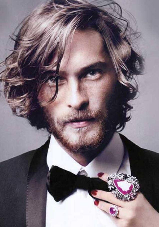 2017 Erkek Sac Modelleri Long Hair Styles Men Wavy Hair Men Medium Hair Styles