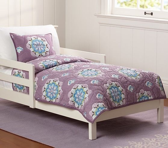 Brooklyn Toddler Quilted Bedding   Pottery Barn Kids   Big Girl ... : pottery barn toddler quilt - Adamdwight.com