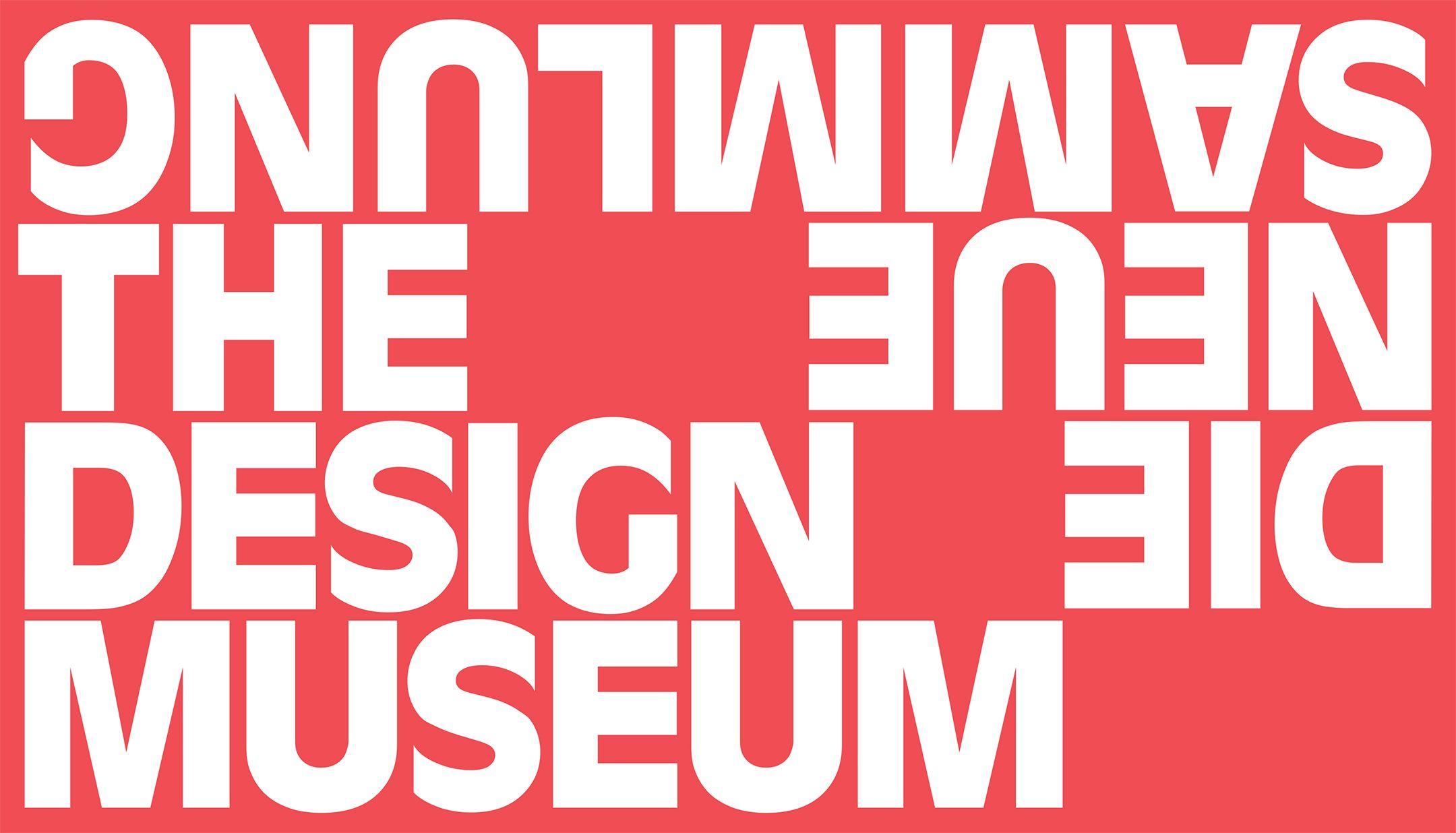 Die Neue Sammlung By Bureau Borsche Design Museum Museum Identity Museum