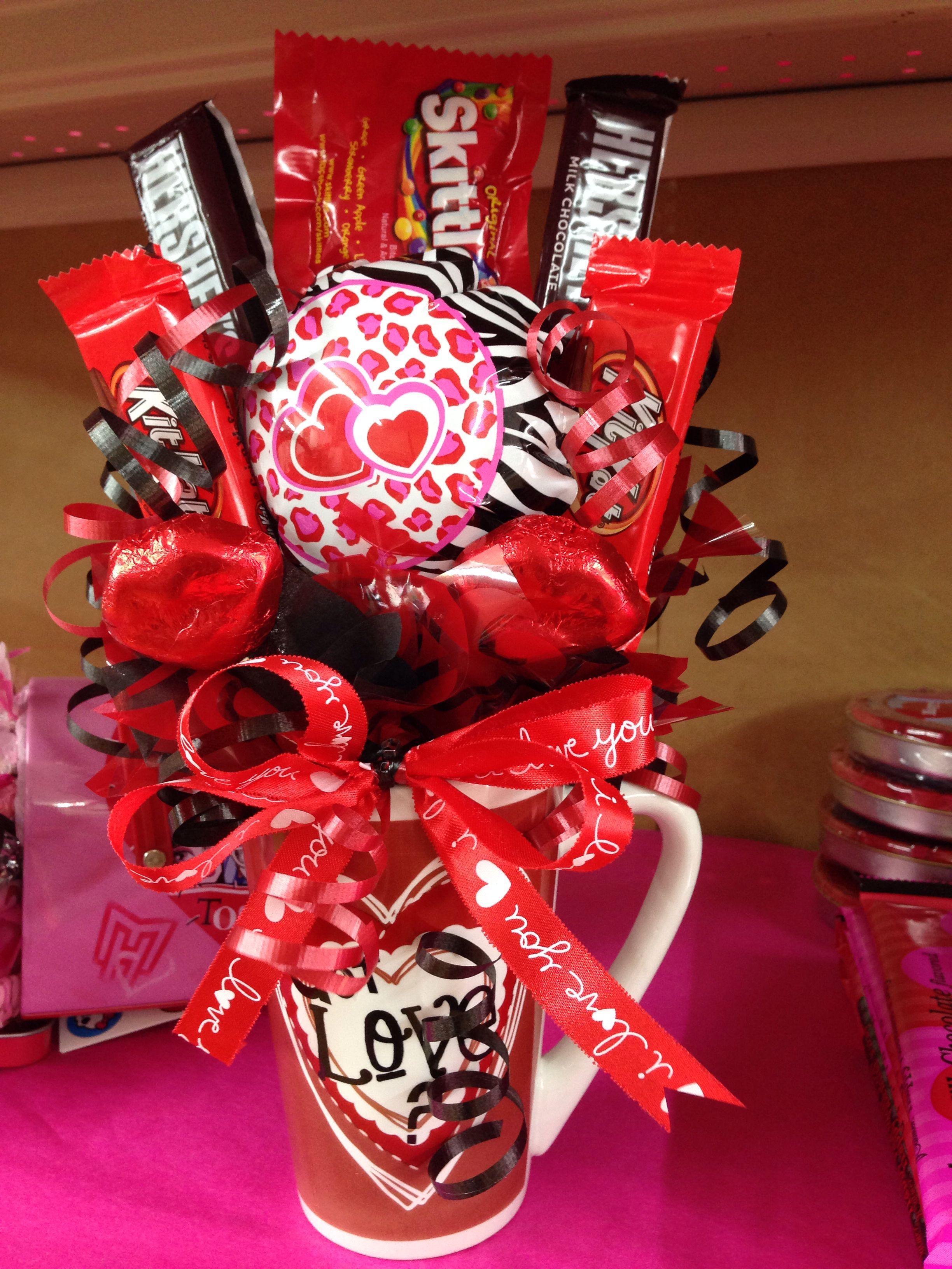 Bouquet De Barras De Chocolate De Amor Y Amistad