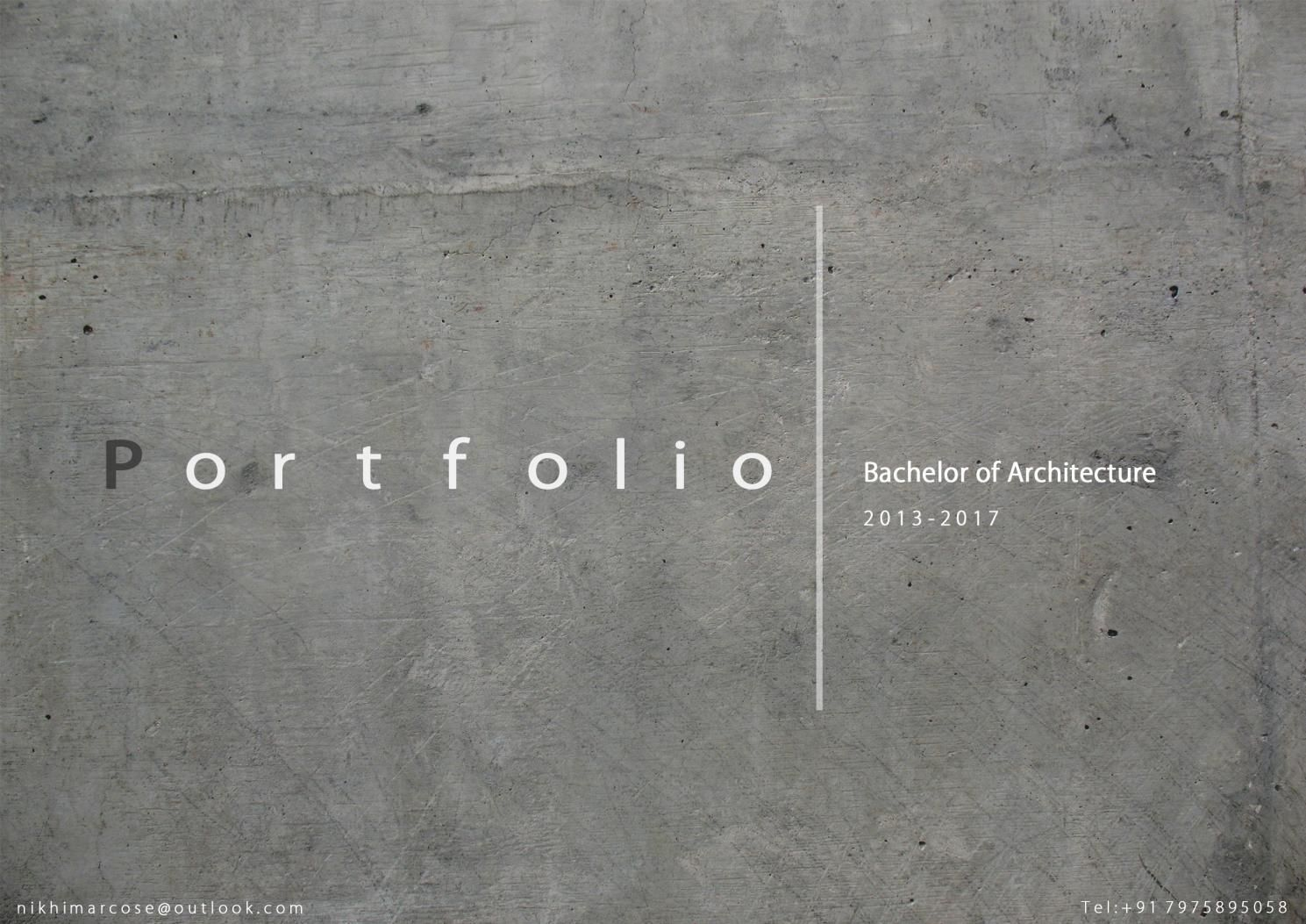 Architecture Portfolio - Issuu is a digital publishing platform with ... - Architecture P ... - Trend Award Design 2019