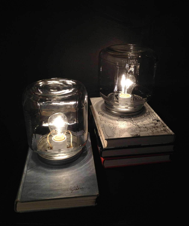 Vintage Book Desk Lamp. $50.00, Via Etsy.