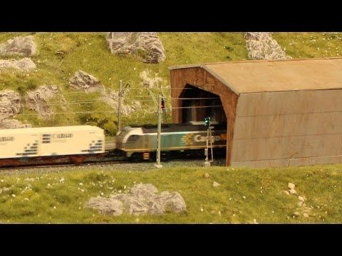 Modellbau-Team Köln - Station Finse - Norwegen | Modellbahn