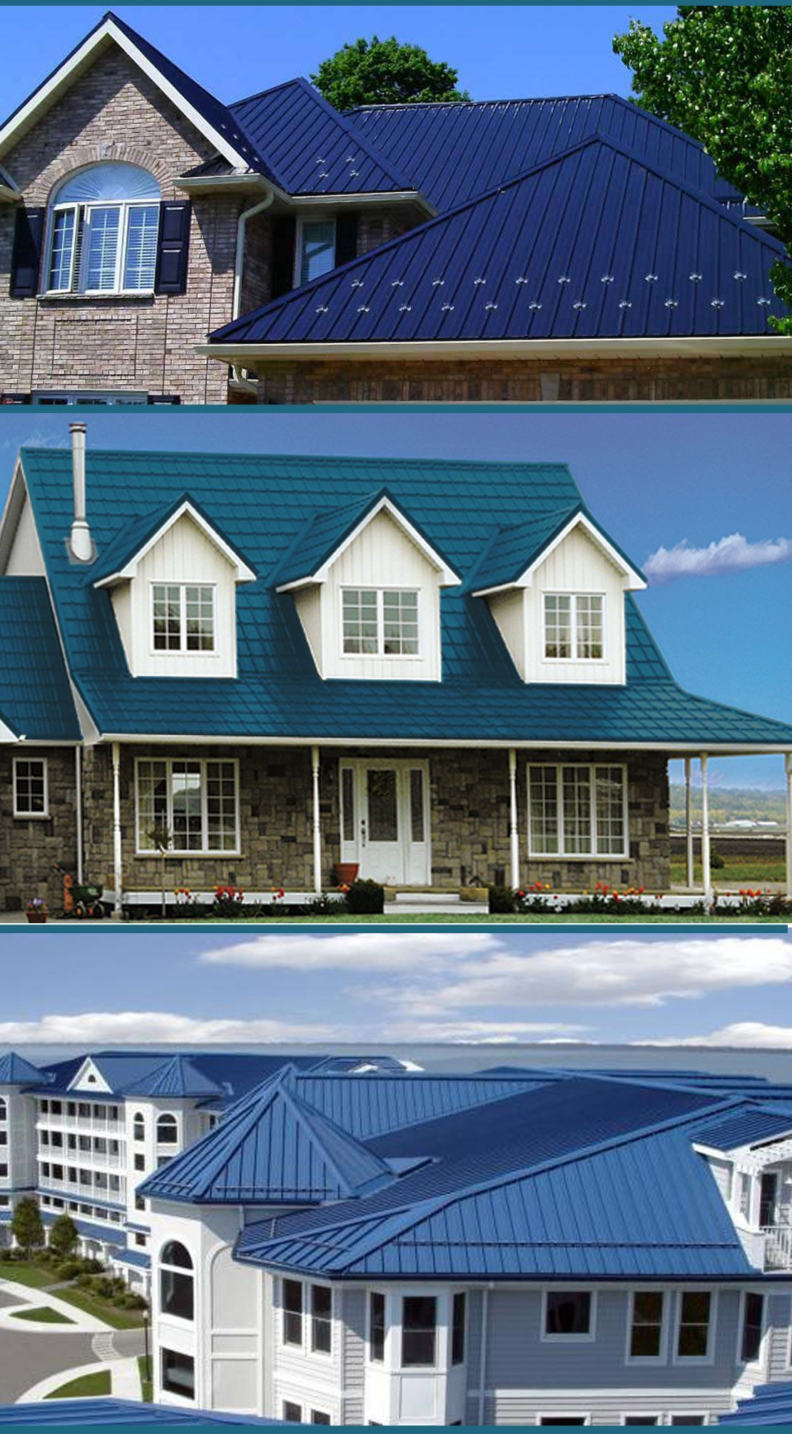 Metal roof ideas for all home styles home designs ideas best blue
