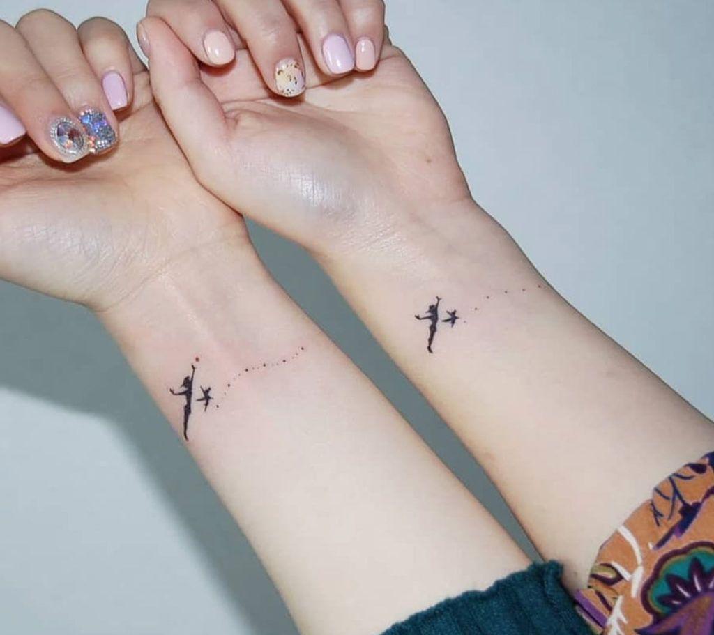 19++ Best Cute finger tattoos for best friends image HD