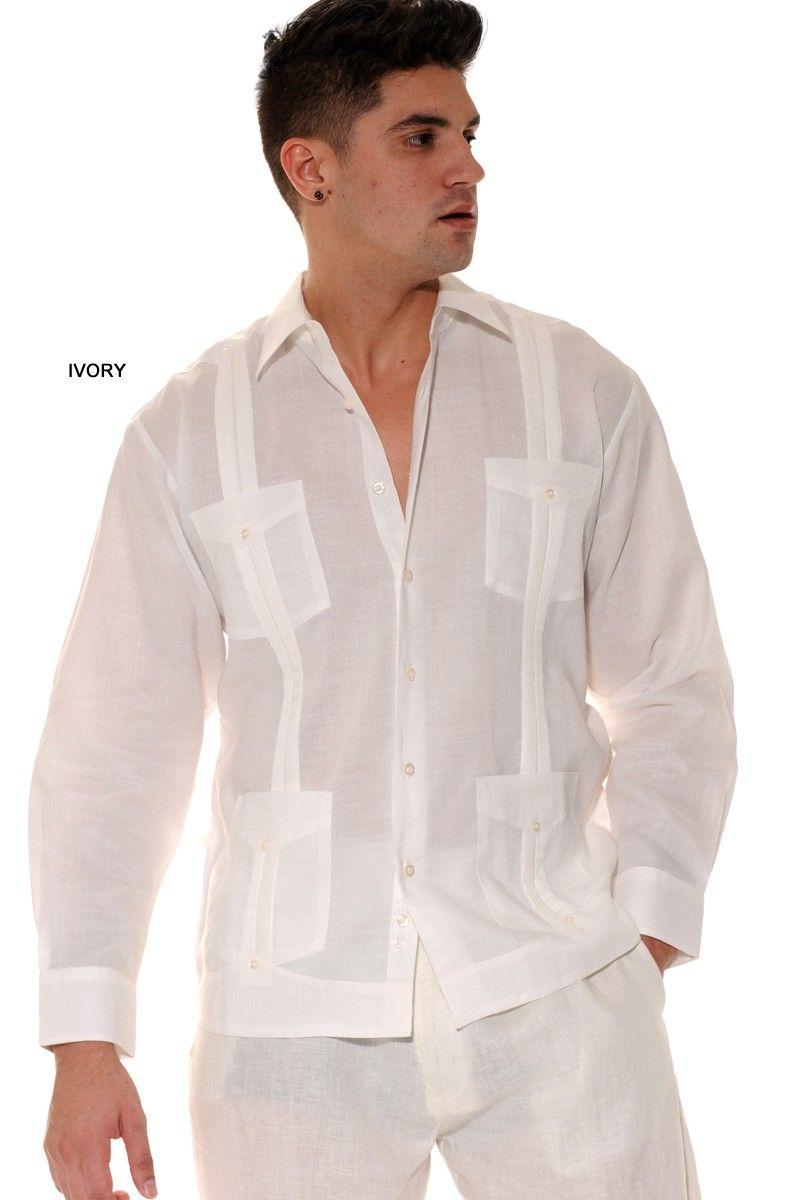 Mens Linen Shirt Guayabera Shirt Mens Linen Pants Mens Linen