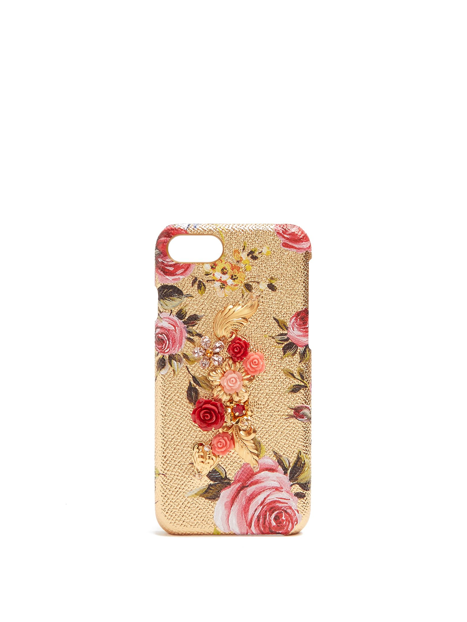 ed84f2e776 DOLCE & GABBANA Floral crystal-embellished iPhone® 6 case   Fashion ...