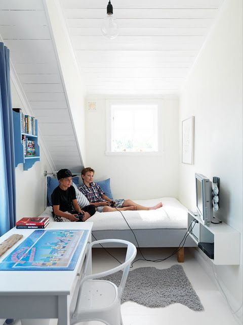 Boys bedroom doesn\'t have to be big, just well designed | Downsizing ...