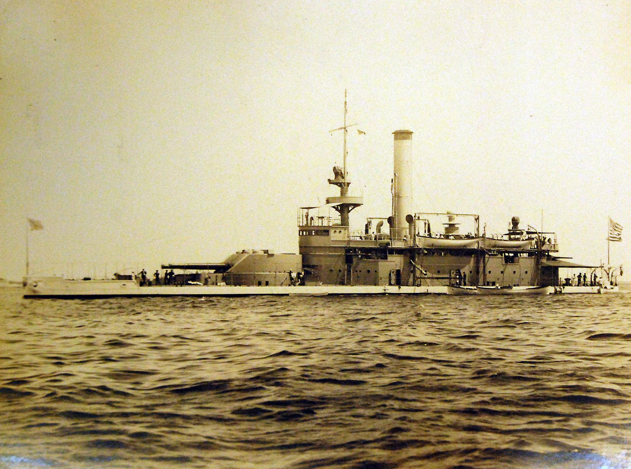 Find This Pin And More On Dreadnoughts And More Navy Singleturreted  Monitor