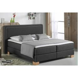 Home affair box spring bed Dayton including cold foam topper 4 widths 2 degrees of hardness …