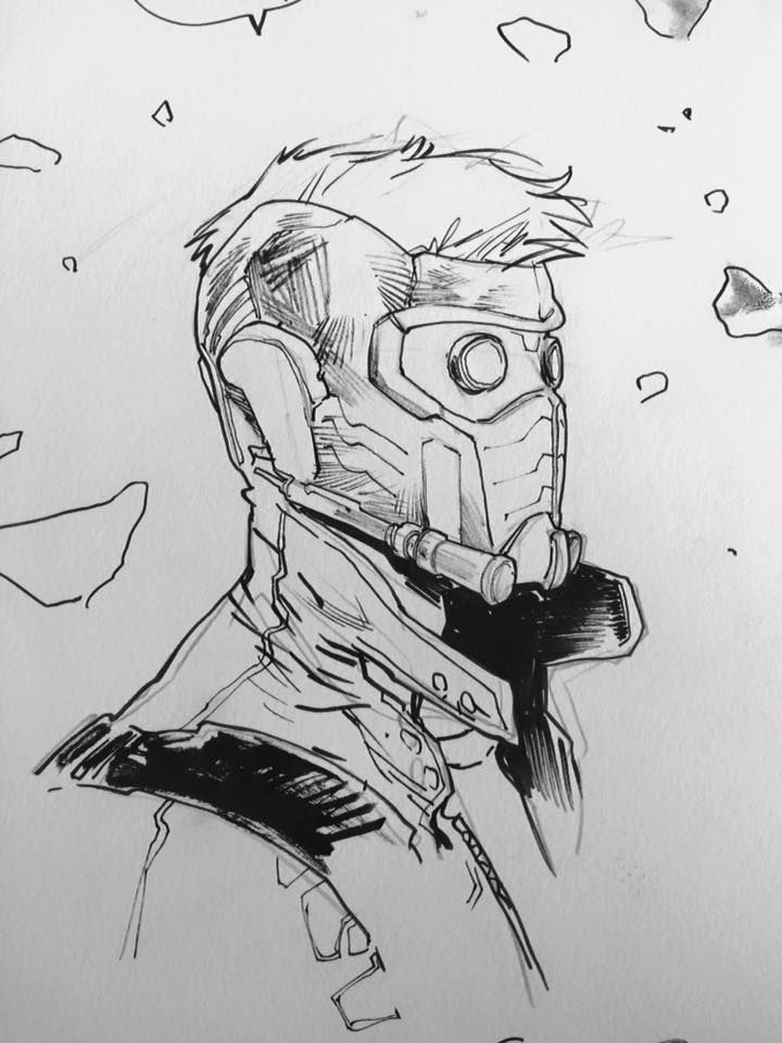 Star-Lord By Sara Pichelli * | Comics And Stuff | Pinterest | Star Lord Lord And Star