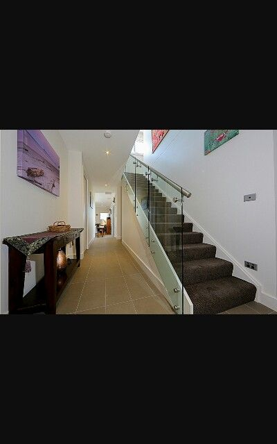 Best Carpet And Glass Stairs Glass Stairs Stairs Stair Handrail 400 x 300