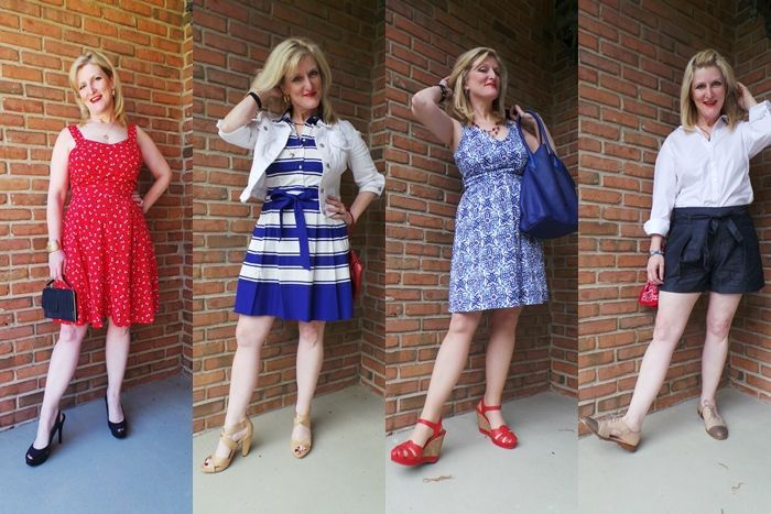 Red White Blue Fashion Trends 2015 Kohls Milly Lauen Conrad Minnie Mouse