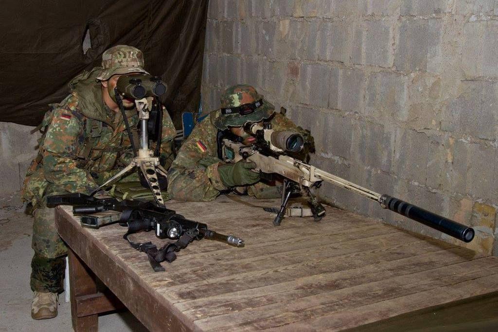 Scharfschützen Ausbildung