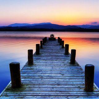 Dock At The Lake Sunset Wallpaper Lake Dock Boat Dock