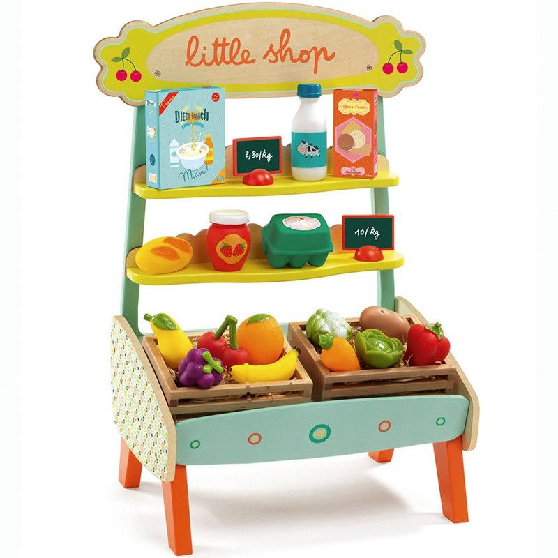 Casa De Muñecas Madera Fruta Veg Cajón Caja Pequeña Miniatura Shop Store del mercado de accesorios