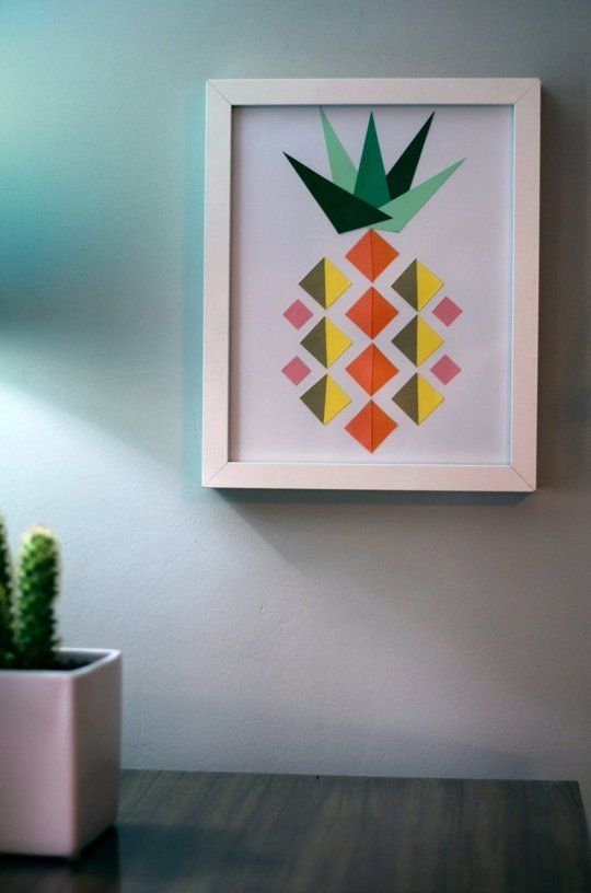 DIY Decor Trend: Pineapple Craft Projects | Apartment Therapy