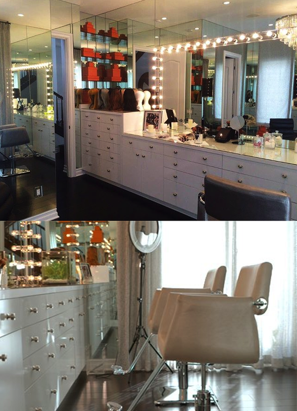 Kylie Jenner Glam Room Kylie Jenner Room Makeup Rooms