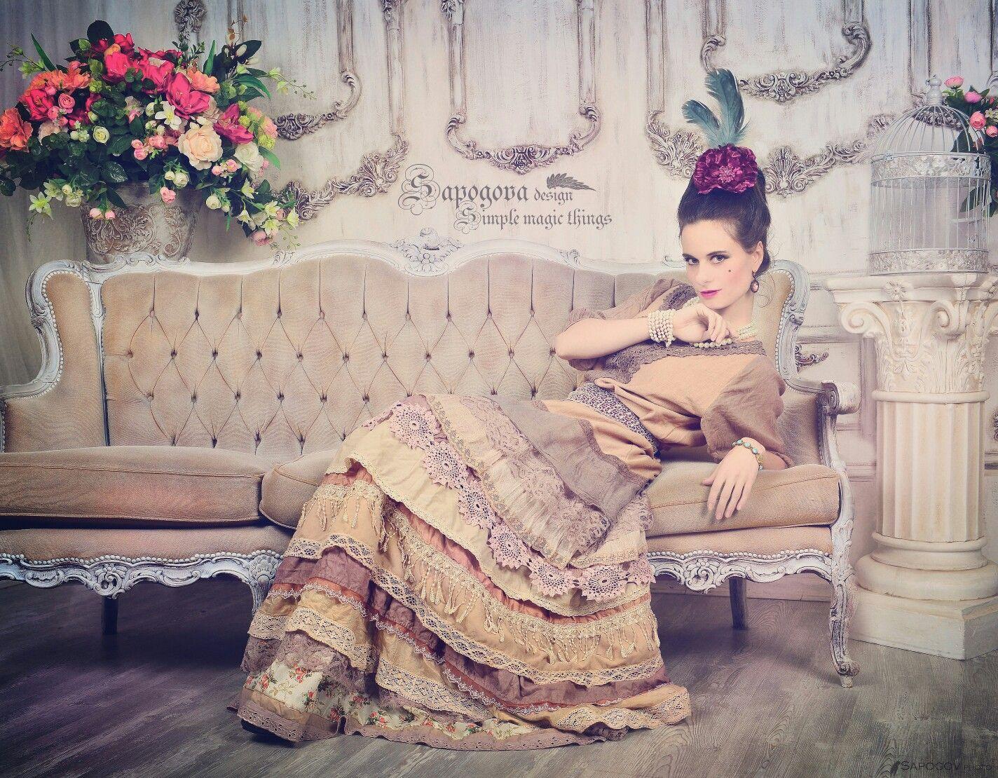 """Вечернее бохо платье """"Duchess """""""