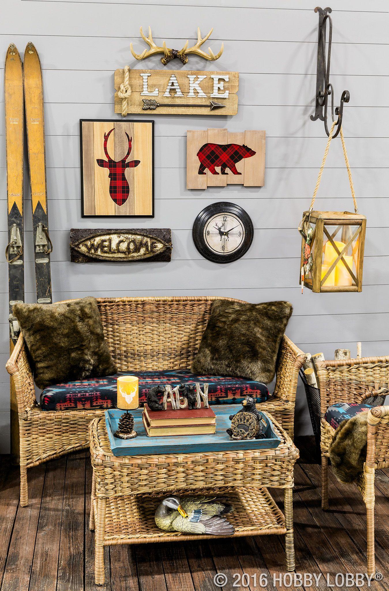 Fishing Hunting Home Decor Frames Hobby Lobby Hunting Home Decor Cabin Decor Diy Cozy Cabin Decor