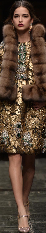 Dolce&Gabbana Alta Moda S/S 2016 by LOLO  |~★♥