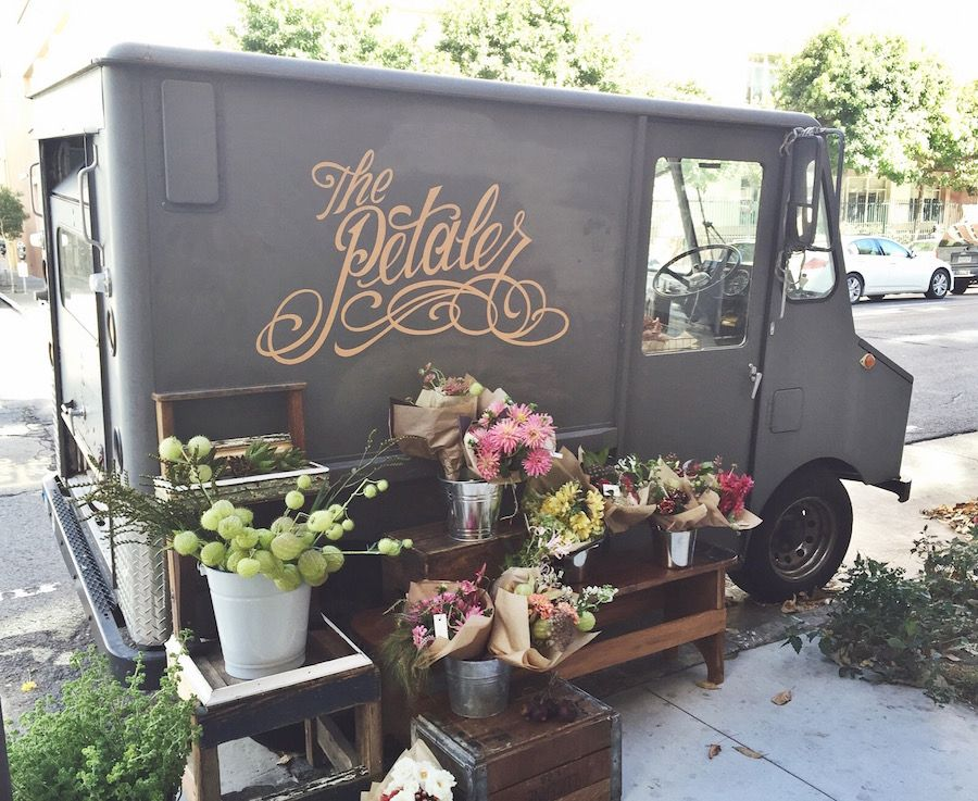 The Petaler // San Francisco mobile flower shop Beach
