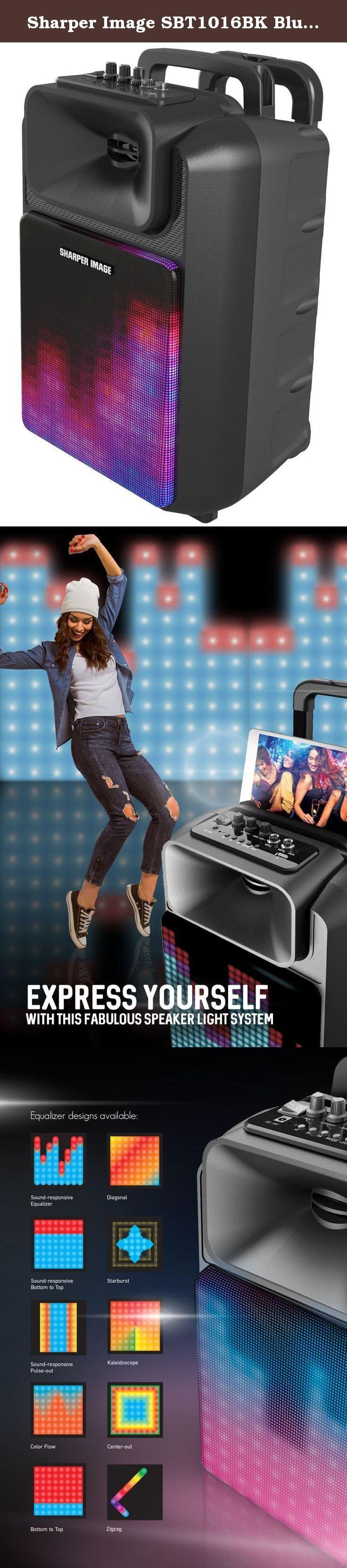 Sharper Image Sbt1016bk Bluetooth Wireless Portable Tailgate Speaker