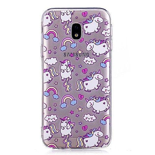 carcasas samsung j7 2017 purpurina