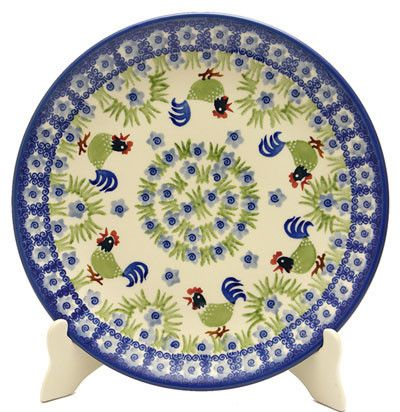 Dinner Plate (Rise \u0026 Shine) High-Quality Polish Stoneware from the largest supplier in the western United States - The Polish Pottery Outlet in Englewood ...  sc 1 st  Pinterest & 10\